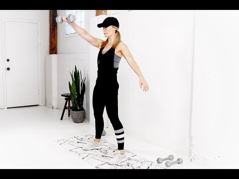 Total Body HIIT WORKOUT // With Weights