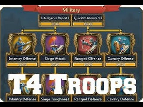 Lords Mobile: T4 Troops Unlocked | WARNING Might Become Disheartened