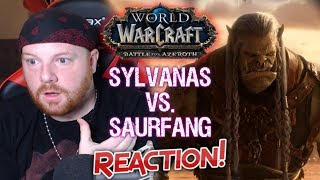 Saurfang vs Sylvanas - Krimson KB Reacts - Battle for Azeroth Reactions