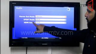 Change Audio Settings Z 254 ZummTV