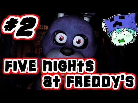 【ホラー実況】showのfive nights at freddy's #2【show】