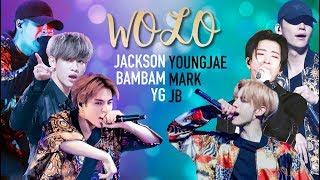 Got7 Jb, Mark, Youngjae X Jackson, Yugyeom, Bambam   Wolo Comparison (split Audio)