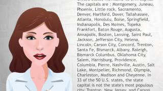 List of capitals in the United States - Wiki Videos