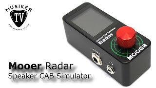 Mooer Radar Speaker CAB Simulator - Review