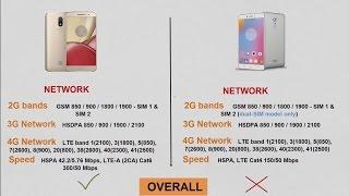 Lenovo K6 Note VS Motorola M Comparison
