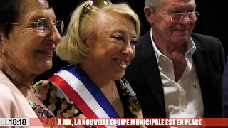 À Aix, l'équipe municipale est en place