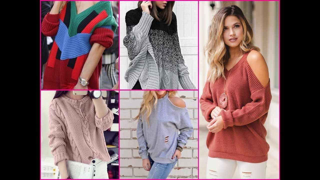 Trendy Sweaters 2018 , Winter Outfits Ideas