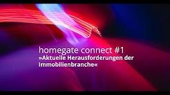 Homegate Connect Live Webinar: Aktuelle Herausforderungen der Immobilienbranche