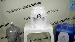 Обзор кулер для воды HotFrost D1150R.Раздатчик воды без нагрева и охлаждения.Диспенсер/кулер в школу