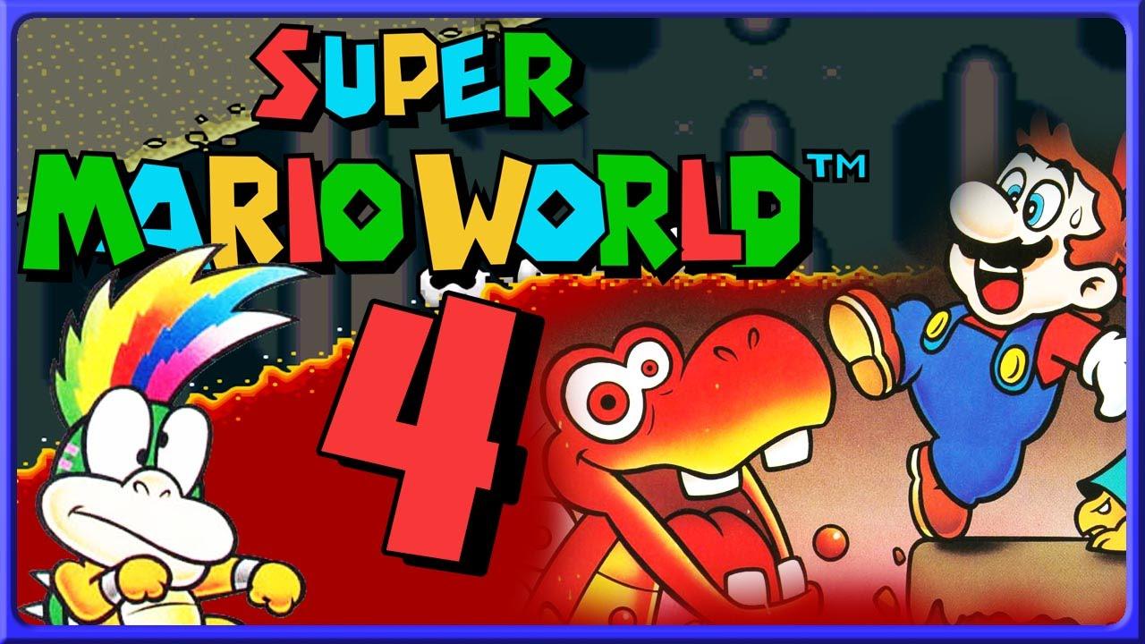SUPER MARIO WORLD Part 4: Gewappnet Mit Optimaler