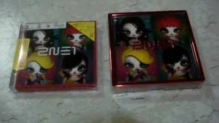 unboxing 2ne1's 1st japanese mini album version A
