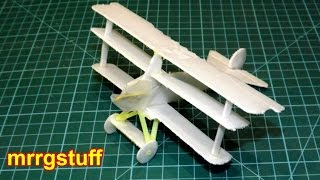 A little Fokker triplane made using an old book I have. Inspired by...