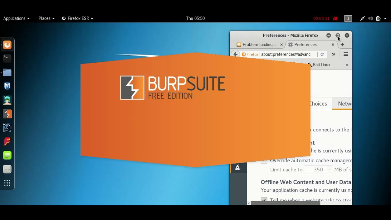 BurpSuite: The client failed to negotiate an SSL connection