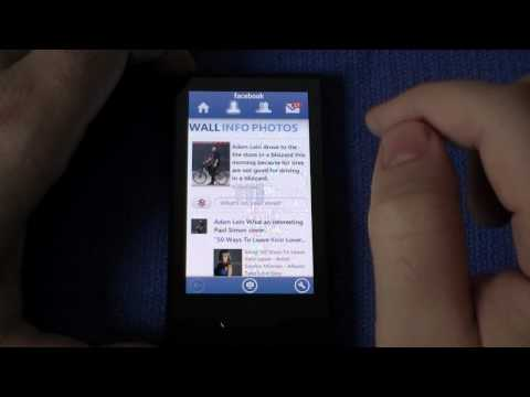 Facebook App on Zune HD