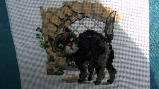 Вышивка крестом: Кошка