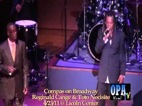 Reginald Cange & Toto Necessite Performing Ti-Pouchon Live @ Compas on Broadway.