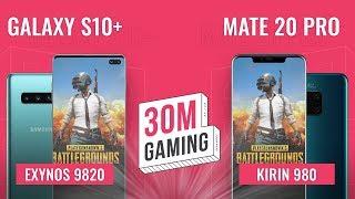 [30M Gaming #20] Galaxy S10+ vs. Huawei Mate 20 Pro: Exynos 9820 NGON thế này sao?