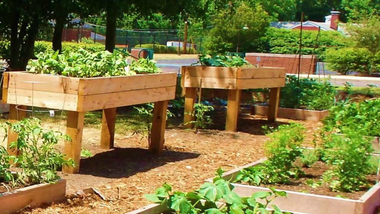 How To Build Off The Ground Garden Beds Youtube
