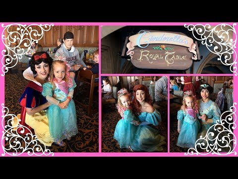 Breakfast at Cinderella's Royal Table 2018 in Magic Kingdom!