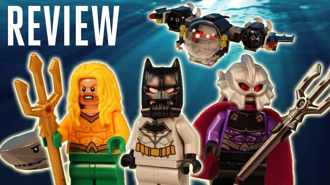 Lego DC Super Heroes Minifigure Ocean Master 76116 NEW!