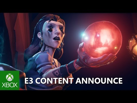 Sea of Thieves – E3 2018 – Cursed Sails and Forsaken Shores Announce