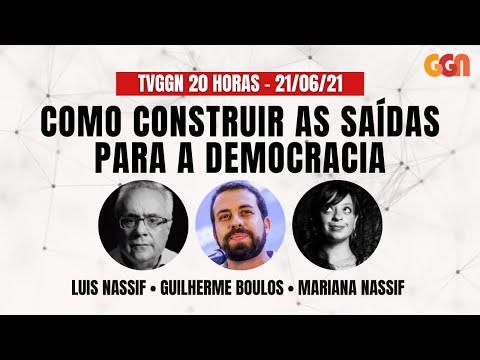 TVGGN 20 HORAS: COMO CONSTRUIR SAÍDAS PARA A DEMOCRACIA (21/06/21)