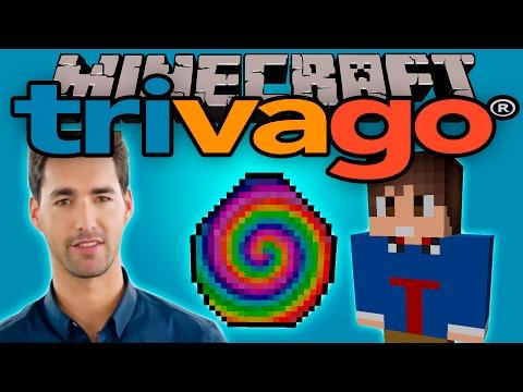 TRIVAGO MOD - Tu hotel ideal aquí no lo encontrarás!! - Minecraft mod 1.10.2 Review ESPAÑOL