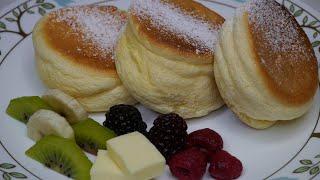 Souffle Pancakes | Fluffy Japanese Pancakes
