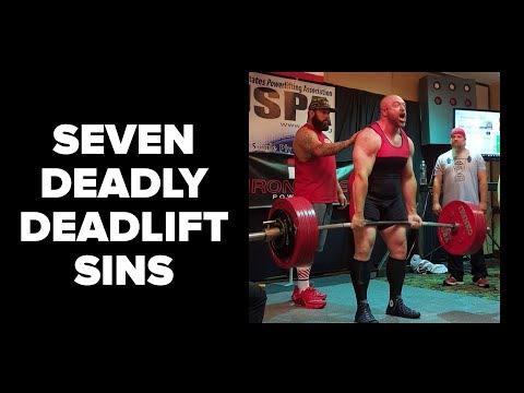 7 Deadly Deadlift Sins You MUST Avoid
