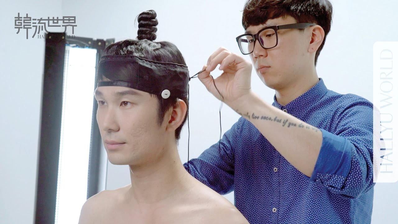 how to make 100 years of korean men's hairstyles 韓國男生髮型100年製作花絮 (*cc)