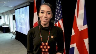 Larissa Crawford speaks about her experience as Canada's head delegate for the Y7 Summit.