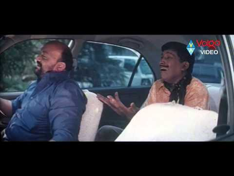 Telugu Movie Comedy Scenes - Vadivelu Hilarious Comedy Scene In Car