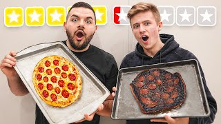 Pizza COOK OFF vs Symfuhny... *GONE WRONG*