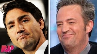 Justin Trudeau Might Beat Matthew Perry's Ass