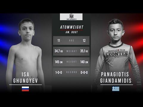 Cage Survivor 14: Young Lion - Isa Ghunoyev vs Panagiotis Giandamidis Full Fight