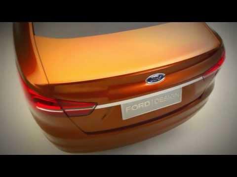 Ford Escort Sedan Concept - Shanghai Show 2013
