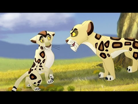 Lion Guard: Badili VS Mapigano | The Trouble With Galagos HD Clip