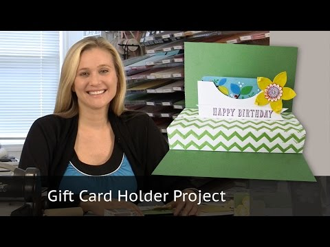 Flower Frenzy Gift Card Holder featuring Stampin Up products