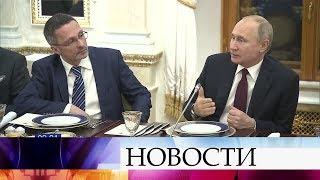 В.Путин встретился с представителями СМИ и еще раз подвел итоги послания Федеральному собранию.