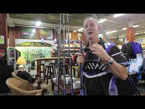 TACKLE & GEAR - NEW Poseidon AZURE Rod Range