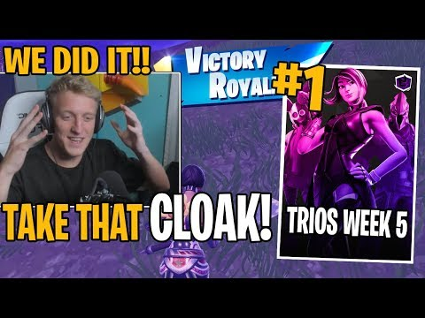 Tfue *WINS* Fortnite Trios Cash Cup Week 5 (First Place)