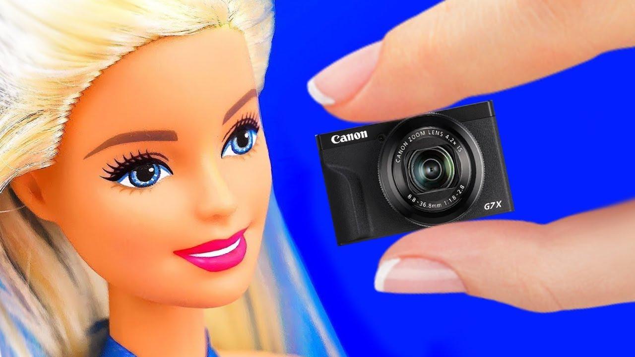 Barbie için minyatür seyahat eşyaları nasıl yapılır