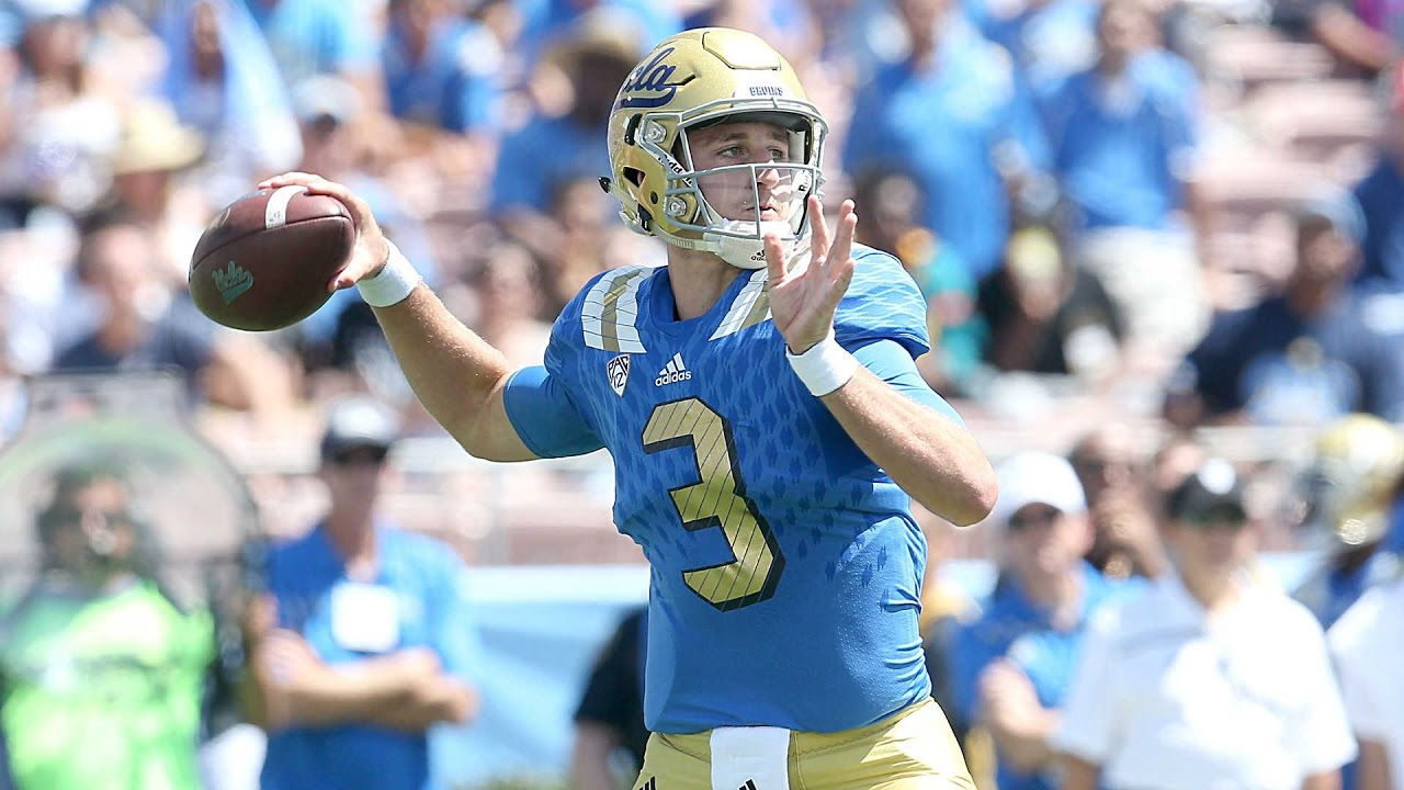 Josh Rosen vs. Texas A&M: All 46 passes