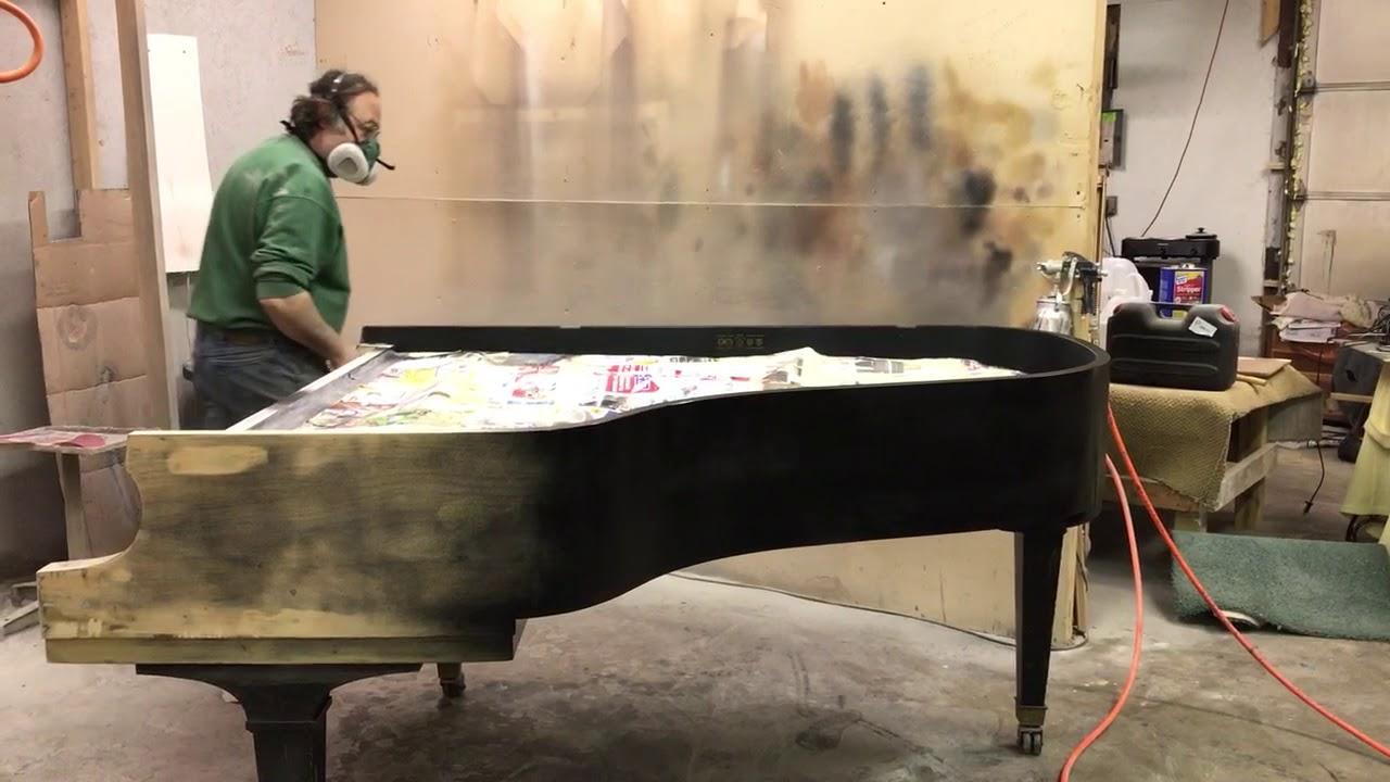 Refinishing Grand Piano In Rapids Michigan