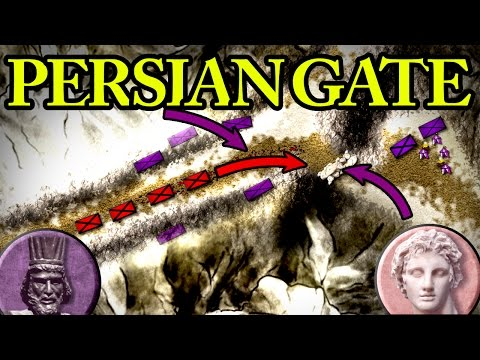 Alexander the Great: Battle of the Persian Gate 330 BC