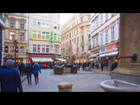 Váci utca (Váci street) - Budapest, Hungary