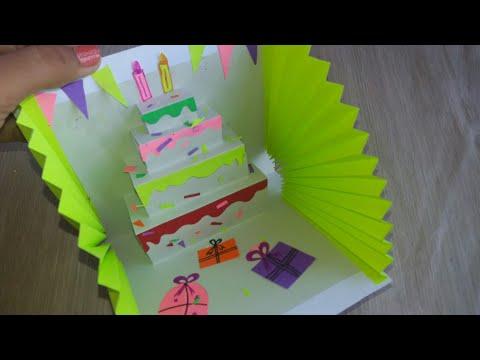 How to Make Happy Birthday Card / Handmade Cards