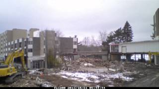 Demolition of Kutsher's Hotel & Resort