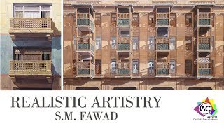 Gambar cover Realistic Artistry by S  M  Fawad at ArtCiti Gallery Karachi