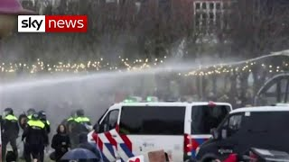 COVID-19: Netherlands curfew protests lead to violence